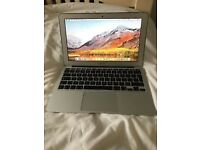 APPLE MACBOOK AIR 11,INTEL CORE I5 1.3GHZ,128GB SSD,4GB RAM,INTEL HD GRAPHICS 5000 1536MB,MID 2013