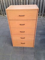 Great Dresser 5 Drawers - Free Delivery