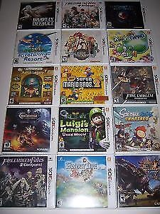 Looking for Nintendo 3DS games! Will Trade or Pay $$$