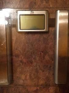 Digital weight and BMI scale for sale. Comes with manual