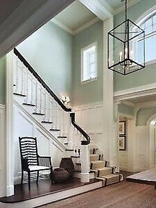 Experienced professional painting and stair refinishing