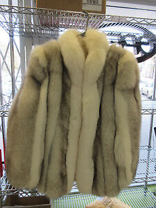 ** GENUINE** Beautiful genuine fox fur coat by Offman Halifax