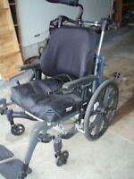 FUZE T20 TILTING WHEELCHAIR WITH HEAD REST ...SUITABLE FOR MEDIU