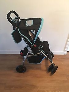 Avalon & Cosco baby stroller with canopy. AVAILABLE