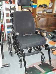 INVACARE CONCEPT 45 WHEELCHAIR WITH HEAD REST ..SUITABLE FOR LAR