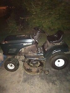 i want TO BUY a dead or dying,,garden tractor, riding lawnmower
