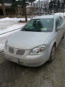 2007 Pontiac G5 sedan auto 216 kms Inspection ran out $900.0