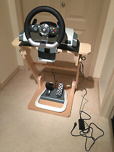 Xbox 360 Driving Wheel/Foot Pedal