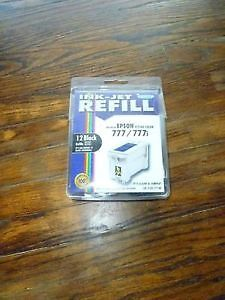 Epson 777 printer refill black ink