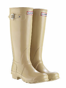 HUNTER BOOTS - BEIGE - SIZE 8