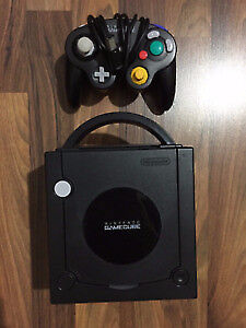 Nintendo Gamecube Noir / Black + Controller & Games /Tested