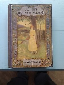 Anne's House of dreams. 1st Edition (1917)