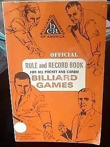 VINTAGE BILLIARDS RULE BOOK