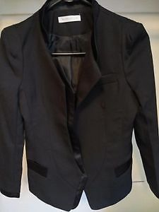 wool coat and black jacket,two asked $10 Kitchener / Waterloo Kitchener Area image 2