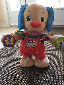 Educational dog by fisher price