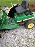 parting out a john deere 56 lawn tractor