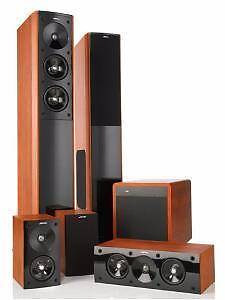 Jamo S606 S60 5.1 Channel Full Home Theater System