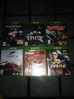 Lot of xbox one games - firm price
