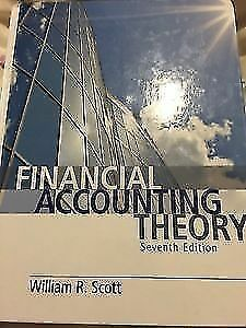Financial accounting theory by scott kijiji in ontario buy financial accounting theory 7th edition william r scott fandeluxe Images
