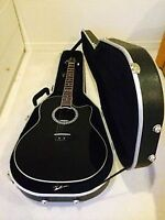 Electric acoustic Ovation Guitar