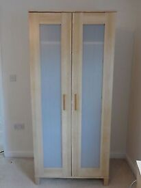 measuring 80cm width, 50cm depth, 180cm height. Great condition, barely us