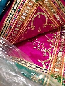 LAST FIVE SAREES TO GO GRAB ANY FOR $50 EACH BRAND NEW