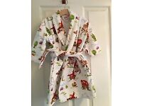 Cath Kidston Dressing Gown Cowboys Aged 2-3