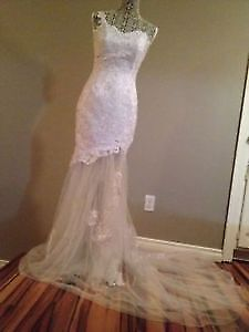 Perfect Dress for Destination or Summer Wedding! Mermaid Style!