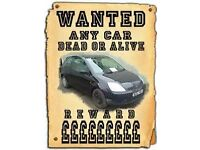 ALL CARS AND VANS WANTED CASH WAITING