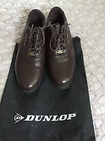 Golf shoes Dunlop size 9 brown