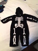 Halloween Costume - Baby Bad Bones