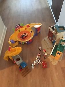 Fisher Price toys with accessories: AVAILABLE