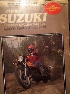 1964 - 1979 Suzuki 125 - 400 Singles Service Manual Regina Regina Area image 1