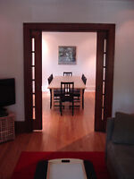 Upper, Bright, Spacious FURNISHED 2Bdrm + Study and Sunroom