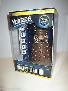 Yahtzee Doctor Who Dalek Collector's Edition Game