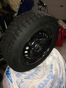 COROLLA - BRAND NEW STUDDED WINTER TIRES/RIMS