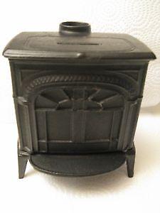 Miniature Vermont Castings Cast Iron Bank