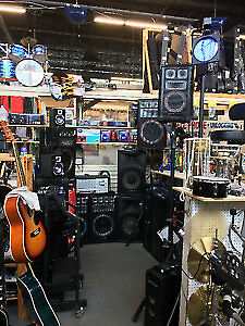 Sound Equipment, Speakers,Mixers, Power Amps, Lights and More!