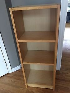 IKEA Billy book shelf birch veneer