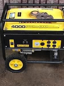 4000/3000 watt generator