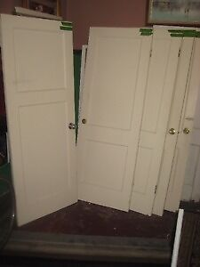 """antique solid wood """"Drake"""" style 2panel Interior Doors"""