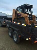 S.S.C - Renting skid steers and dump trailers!