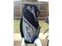 Taylormade SLDR cart golf bag