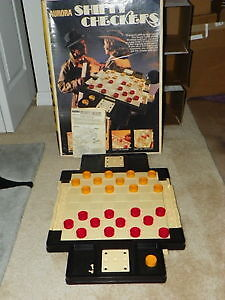 Shifty Checkers-1973 Large-sized Vintage Game by Aurora