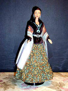 Korean Court Barbie : Other Barbies : from Series : like NEW