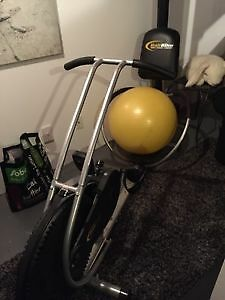 Ball Bike cross-fit exercise bike with manuals & bands $125 FIRM