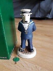 Robert Harrop port Solent bull terrier sailor figure