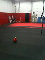 GREAT Gym for BJJ,  Grappling, Kettlebell Sport, & NERF Events