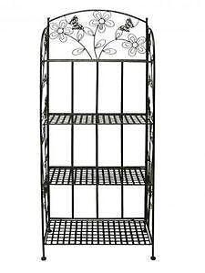 metallregal m bel wohnen ebay. Black Bedroom Furniture Sets. Home Design Ideas