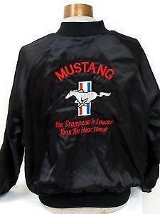 Vintage 90s Ford Racing Satin Bomber Jacket And To Have A Long Life. Men's Clothing